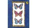 "Набор д/вышивания ""Бабочки синие"" 12х35"